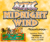Aztec Midnight Wind Herbal Smoke